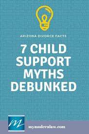 seven myths about arizona child support