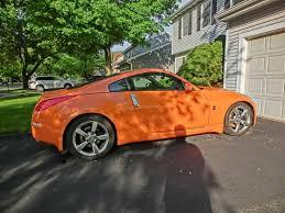 orange nissan 350z john milmont u0027s 2007 nissan 350z