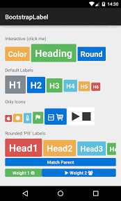 android label bootstrap label bearded hen android bootstrap wiki github
