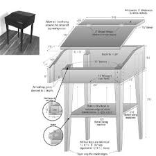 Free Woodworking Plans Writing Desk by Porter Cable