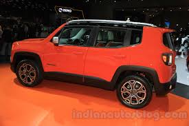 jeep renegade interior orange jeep renegade iims 2015 live