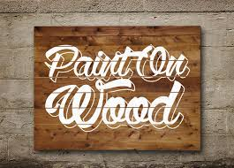 wood painting painted on wood text effect wood paint psd font textuts