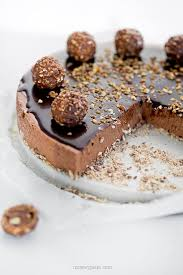 no bake rocher cheesecake t a s t e pinterest cheesecakes