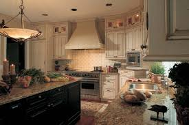 French Style Kitchen Cabinets Modren Kitchen Tiles Country Style With Seating Wooden Painted