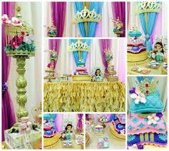 princess jasmine aladdin baby shower party ideas photo 1 of 25