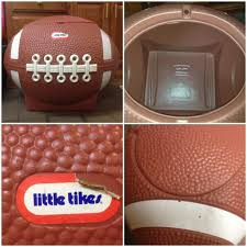 Little Tykes Toy Box Little Tikes Vintage Football Toy Box Ice Chest Tailgate Party