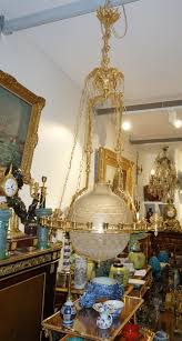 Opaline Chandelier Chandeliers Napoléon Iii Antiques In France