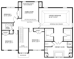 Massey Hall Floor Plan by The Charleston U2014 Js Homes