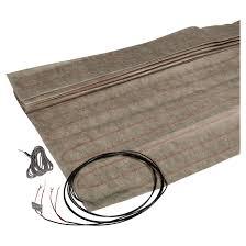 tapis chauffant bureau tapis de câble chauffant mc 5 x 3 rona