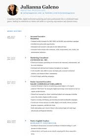 Sales And Marketing Resume Examples by Marketing Resume Samples Visualcv Resume Samples Database