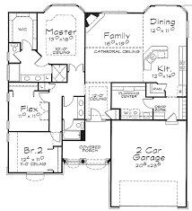 one floor house plans one story house plan with choices 40885db architectural