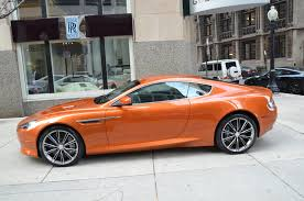 orange aston martin 2012 aston martin virage stock b371a for sale near chicago il