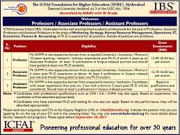 Operations Associate Job Description Job Assistant Professor Hyderabad Learning U0026 Library