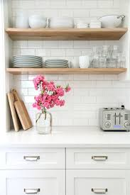 Home Depot Wood Shelves by Cottage Style Kitchen Entirely From Home Depot Shelves Home
