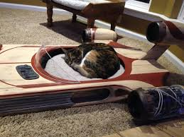 May The Force Be With Your Kitty In This Star Wars Landspeeder Cat Bed - Star wars bunk bed