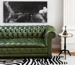 Vintage Chesterfield Sofas Furniture Chesterfield Sofa Leather Inspirational Vintage Green