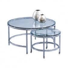 Metal And Glass Coffee Table Glass Chrome Coffee Table Foter