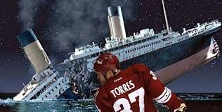 the sinking of the titanic 1912 los angeles kings gameday torresing through time battle of california