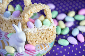 eater baskets rice krispies treats easter basket eazy peazy mealz