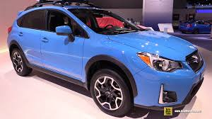 2016 Subaru Xv Crosstrek Exterior And Interior Walkaround 2016