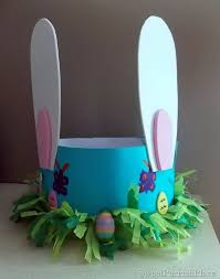 Paper Easter Decorations To Make by Cool Easter Bonnet Or Hat Ideas Hative