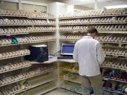 Storage Bin Shelves by Pharmacy Supply Shelves Tilted Medical Shelving Slanted