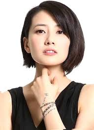 pixie cut hairstyle for age mid30 s asian short hairstyles for round face hairstyles pinterest