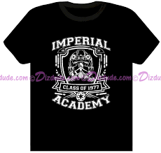 class of 77 wars t shirt dizdude wars tie pilot imperial academy class of 1977
