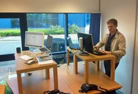 Convert Normal Desk To Standing Desk How To Make A Standing Desk On Top Of A Regular Desk Examined