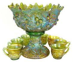 217 best punch bowls images on pinterest punch bowls vintage