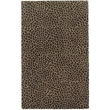 Leopard Area Rugs Walmart World Menagerie Brown Leopard Area Rug Walmart