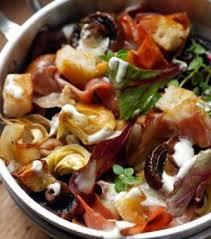 cuisine automne cuisine salade d automne aux chignons et aux artichauts