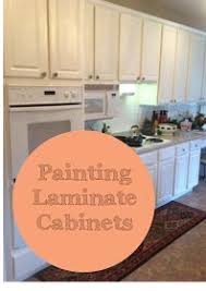 Laminate Kitchen Cabinets Painting Laminated Cabinets How To Repair And Paint Them