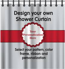personalized shower curtain potty training concepts