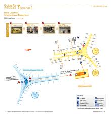 Airport Map International Arrival T3 Guides Bcia