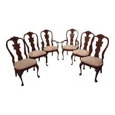American Drew Cherry Grove Dining Room Set Vintage U0026 Used Cherry Wood Dining Chairs Chairish