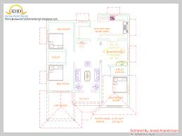single floor house plan and elevation 1170 sq ft home appliance
