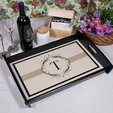 monogrammed serving tray personalized serving trays personalized platters gifts for you now