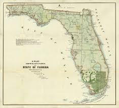 Amelia Island Florida Map Florida Memory State Of The Surveys Of Florida 1855