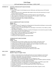 resume format exles documentation of android android software engineer resume sles velvet jobs