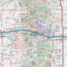 Gmu Map Colorado by North Dakota Recreation Map U2014 Benchmark Maps