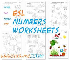 printable esl numbers worksheets u0026 esl activities