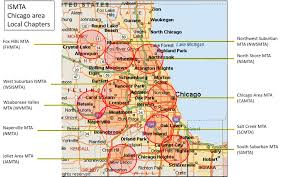 University Of Illinois At Chicago Map by Local Associations Illinois State Music Teachers Association