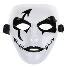 horror masks halloween horror fishbone arrow scars pirate mask for halloween party in