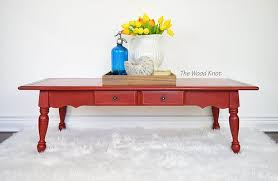 10 beautiful red painted furniture makeovers u2013 craftivity designs