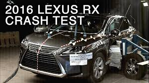 lexus rx price canada 2016 lexus rx side crash test youtube