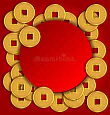 new year gold coins gold coins background for new year stock photo image