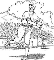 baseball field coloring pages download free printable coloring pages