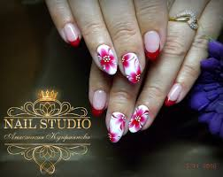 ideas of summer french nails the best images bestartnails com