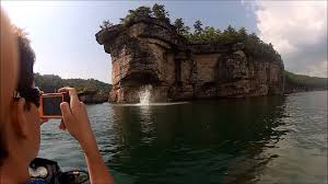 West Virginia snorkeling images Summersville lake west virginia long point cliff jump gopro hd jpg